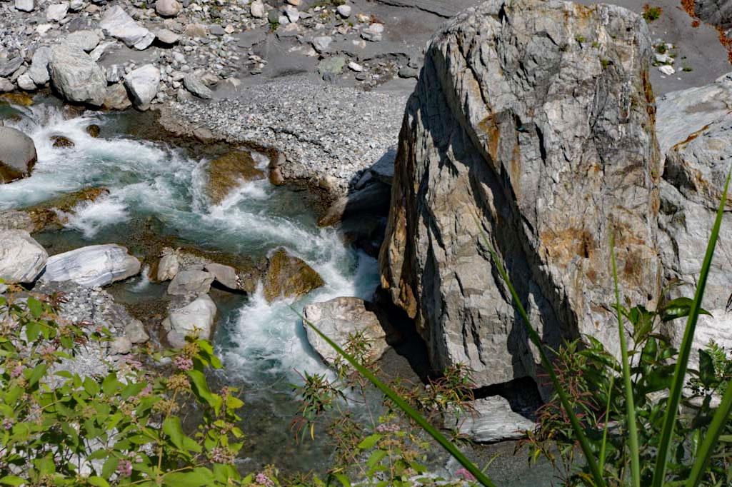 Der Liwu-Fluss in der Taroko Schlucht- Taroko Gorge in Taiwan