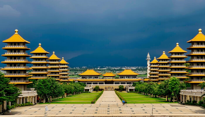 Kloster Fo Guang Shan in Taiwan