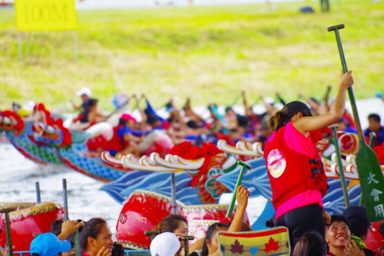 Dragonboatfestival in Taiwan