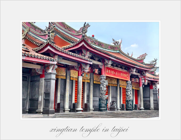 Taiwans Tempel-die Seele des Landes